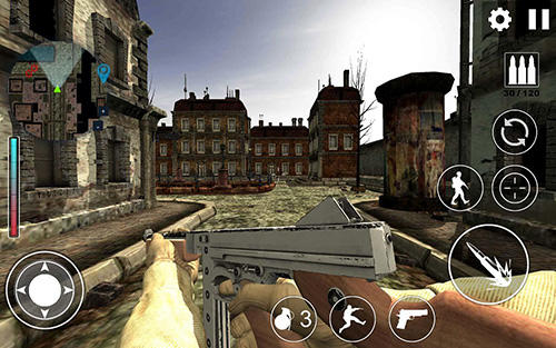 Screenshots of the World war 2: WW2 secret agent FPS for Android tablet, phone.