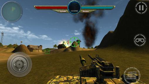 Jogue World war of tanks 3D para Android. Jogo World war of tanks 3D para download gratuito.