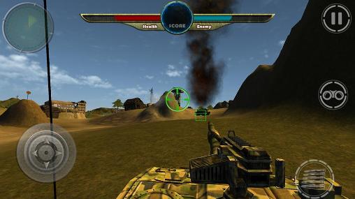 Screenshots do World war of tanks 3D - Perigoso para tablet e celular Android.