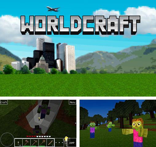 In addition to the game PetraVis for Android phones and tablets, you can also download Worldcraft for free.