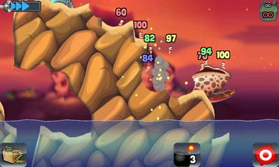 Jogue Worms para Android. Jogo Worms para download gratuito.