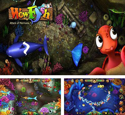 In addition to the game Tap Fish for Android phones and tablets, you can also download Wow Fish for free.