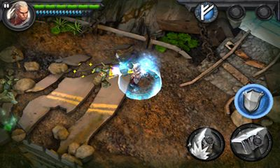 Screenshots of the Wraithborne for Android tablet, phone.