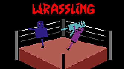 Wras sling: Wacky wrestling poster