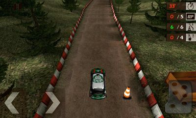 Screenshots of the WRC Shakedown Edition for Android tablet, phone.
