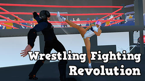 Wrestling fighting revolution poster