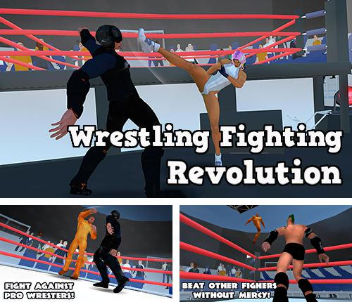 In addition to the game WWE wrestling 3D for Android phones and tablets, you can also download Wrestling fighting revolution for free.