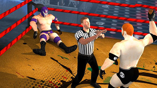 Screenshots von Wrestling nitro mania: Rumble jungle revolution für Android-Tablet, Smartphone.