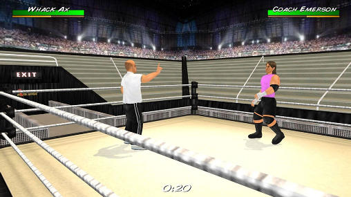 Screenshots do Wrestling revolution 3D - Perigoso para tablet e celular Android.