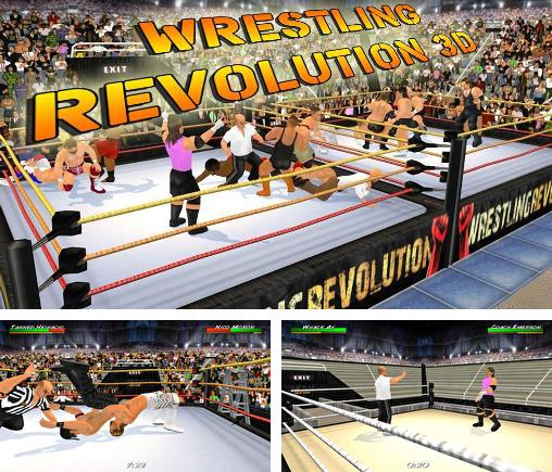 In addition to the game WWE Super сard for Android phones and tablets, you can also download Wrestling revolution 3D for free.