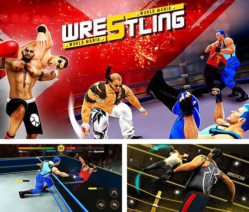 Zusätzlich zum Spiel WWE Mayhem für Android-Telefone und Tablets können Sie auch kostenlos Wrestling world mania: Wrestlemania revolution, Wrestling World Mania: Wrestlemania Revolution herunterladen.