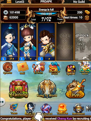 Wuxia legends: Condor heroes for Android - Download APK free