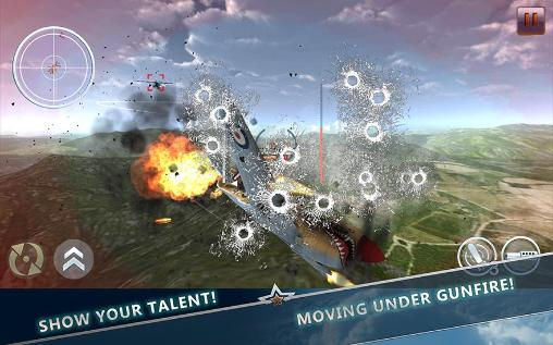 Screenshots von WW2 Aircraft battle: Combat 3D für Android-Tablet, Smartphone.