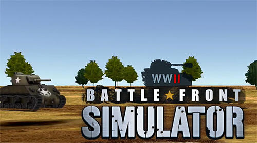 WW2 battle front simulator poster