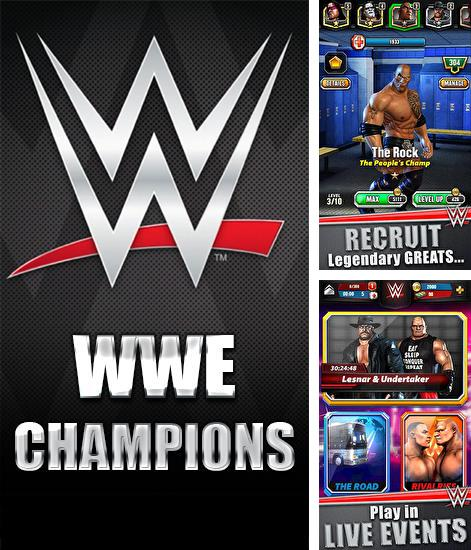 In addition to the game WWE Super сard for Android phones and tablets, you can also download WWE: Champions for free.
