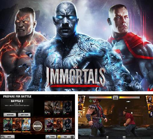 In addition to the game WWE Super сard for Android phones and tablets, you can also download WWE Immortals v2.3 for free.