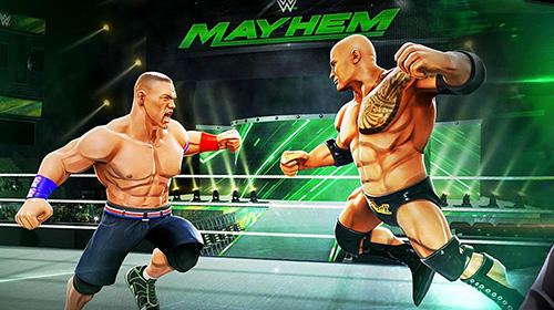 Гра WWE mayhem на Android - повна версія.