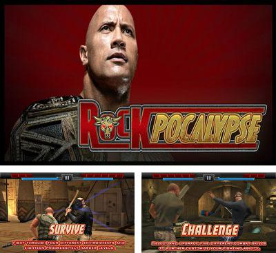 In addition to the game WWE Super сard for Android phones and tablets, you can also download WWE Presents Rockpocalypse for free.