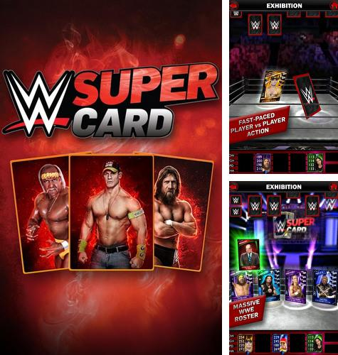 In addition to the game WWE Immortals v2.3 for Android phones and tablets, you can also download WWE Super сard for free.
