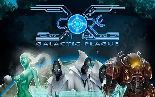 X-core: Galactic plague poster