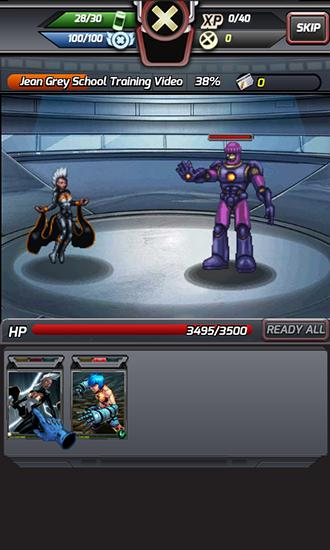 Screenshots von X-Men: Battle of the Atom für Android-Tablet, Smartphone.