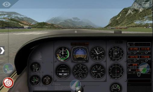 Screenshots von X-plane 10: Flight simulator für Android-Tablet, Smartphone.