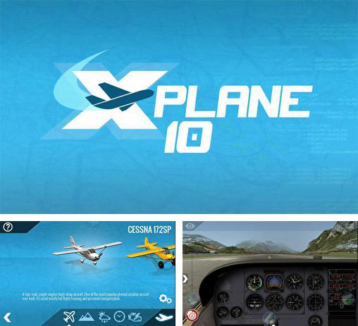 In addition to the game Xtreme Soaring 3D for Android phones and tablets, you can also download X-plane 10: Flight simulator for free.