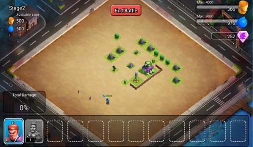 x war clash of zombie mod apk terbaru