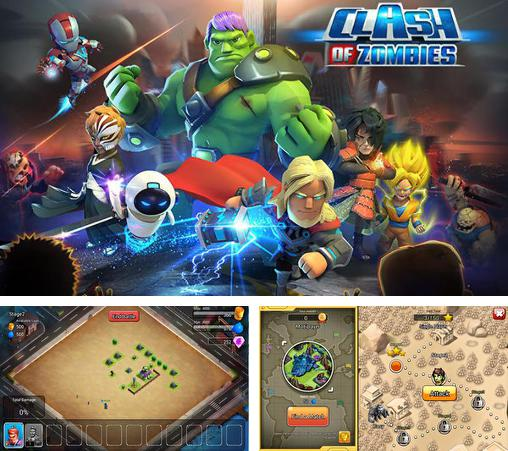 In addition to the game Clash of gangs for Android phones and tablets, you can also download X-war: Clash of zombies for free.