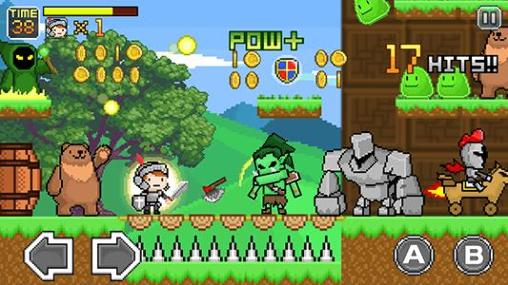 Screenshots von Xcalibur: Fantasy knights. Action RPG für Android-Tablet, Smartphone.