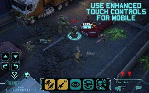 Screenshots von XCOM: Enemy unknown für Android-Tablet, Smartphone.