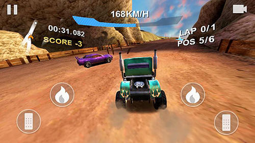 Xtreme hill racing screenshot 1