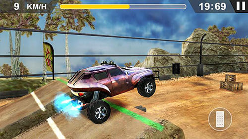 Xtreme hill racing screenshot 2