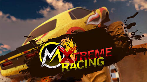 Xtreme MMX monster truck racing poster