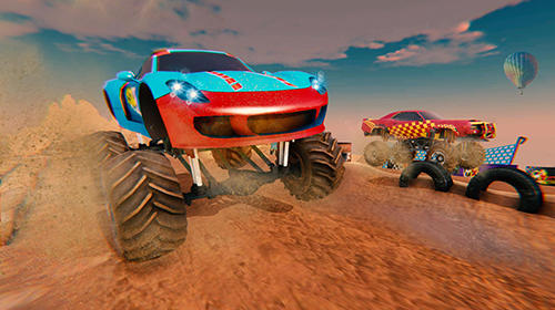 Xtreme MMX monster truck racing für Android spielen. Spiel Xtreme MMX Monster Truck Rennen kostenloser Download.