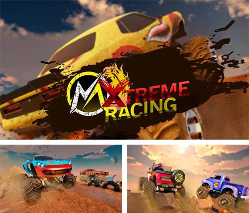 Xtreme MMX monster truck racing