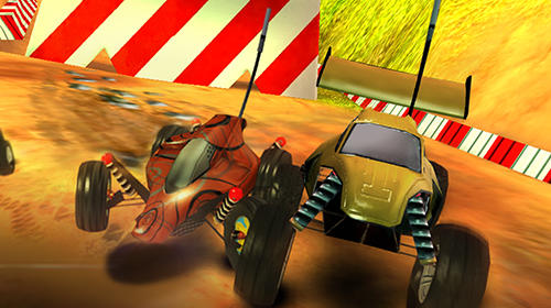 Android タブレット、携帯電話用Xtreme racing 2: Off road 4x4のスクリーンショット。