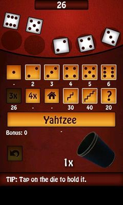 Yahtzee Me FREE screenshot 2