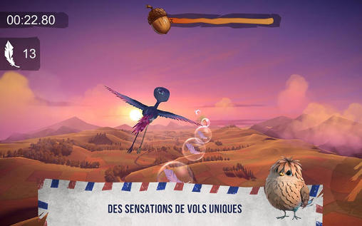 Juega a Yellowbird: As the birds fly para Android. Descarga gratuita del juego Pájaro Amarillo: A medida que las aves vuelan.