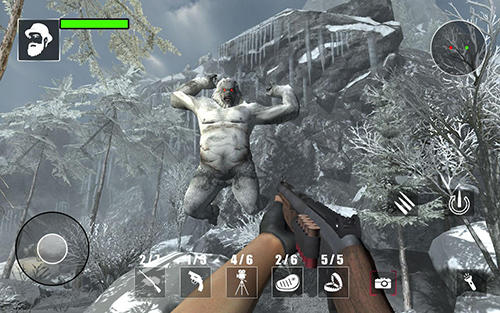 Screenshots von Yeti monster hunter für Android-Tablet, Smartphone.