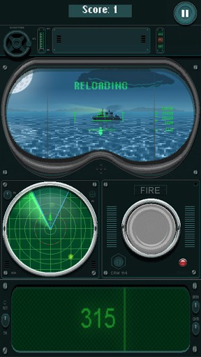 Capturas de pantalla de You sunk: Submarine game para tabletas y teléfonos Android.