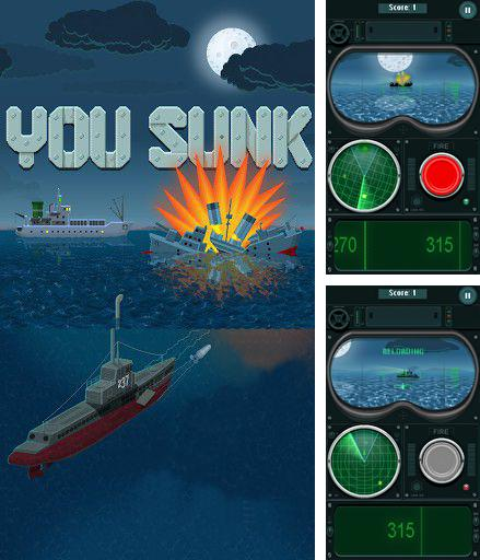 You sunk: Submarine game