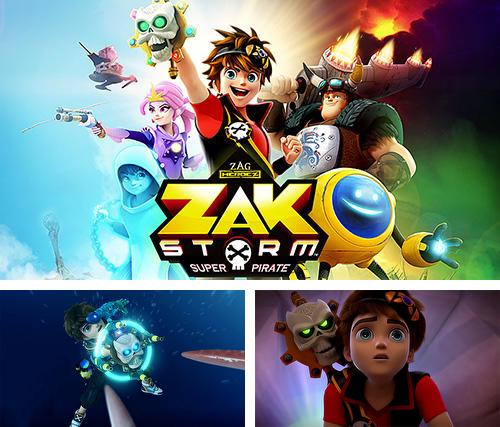 In addition to the game Treasure raiders: Zombie crisis for Android phones and tablets, you can also download Zak Storm: Super pirate for free.