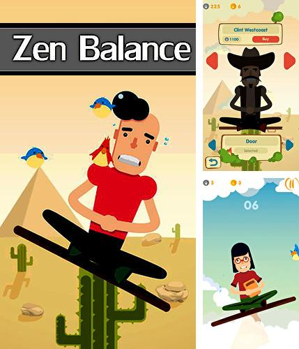 Zen balance: Game and meditation