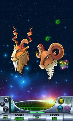 Screenshots of the Zodiac Blast for Android tablet, phone.