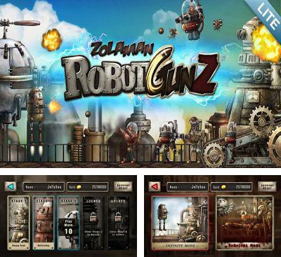In addition to the game Pirate Wings for Android phones and tablets, you can also download Zolaman Robot Gunz for free.