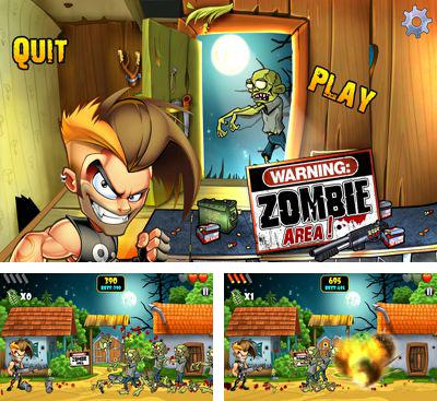 In addition to the game Zombie Terminator for Android phones and tablets, you can also download Zombie Area! for free.