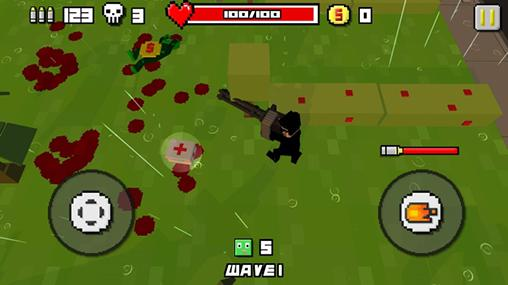 Zombie breakout: Blood and chaos screenshot 2