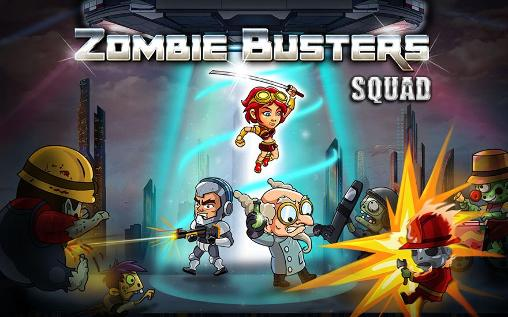 Zombie busters squad обложка