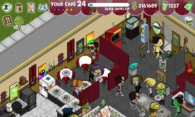 Download Zombie Cafe Android free game.